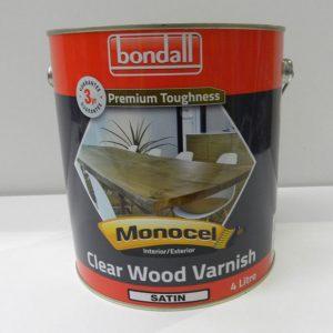 Bondall Clear Wood Varnish Satin – 4L
