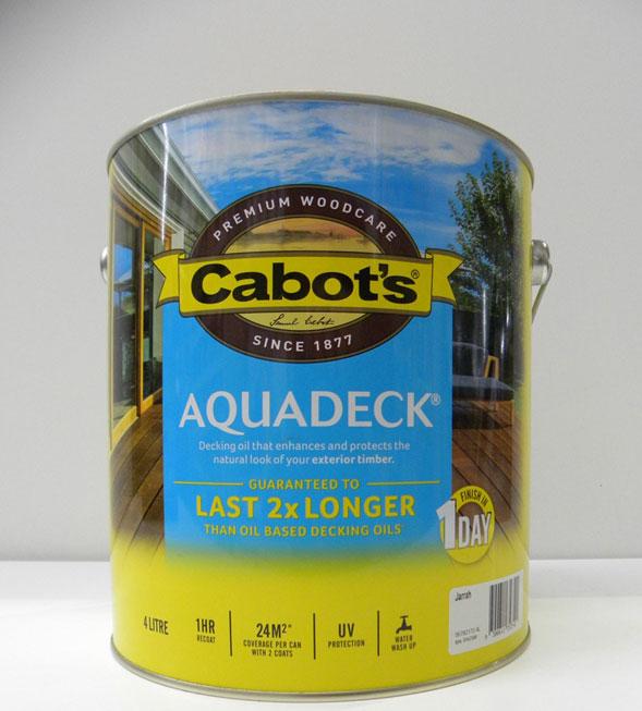 Cabot's Jarrah Aquadeck – 4L