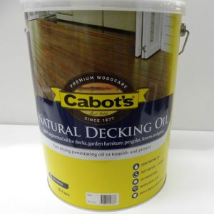 Cabot's Jarrah Decking Oil – 10L