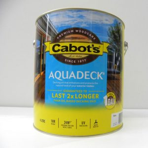 Cabot's Merbau Aquadeck – 4L