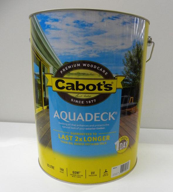 Cabot's Natural Aquadeck – 10L