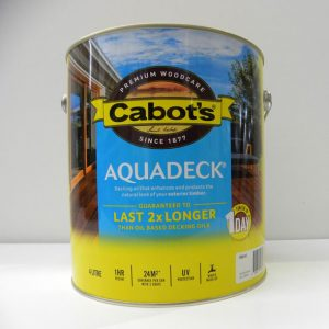 Cabot's Natural Aquadeck – 4L