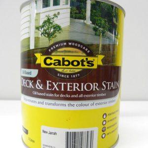 Cabot's New Jarrah Deck & Exterior Stain – 1L