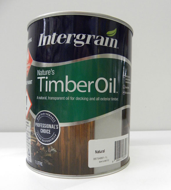 Intergrain Natural Timber Oil – 1L
