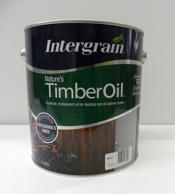 Intergrain Natural Timber Oil – 4L
