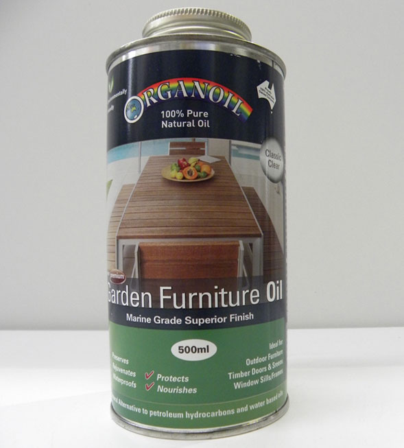 OrganOil Garden Furniture Oil – 500ml