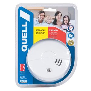 Quell Bedroom & Hallway Photoelectric Smoke Alarm